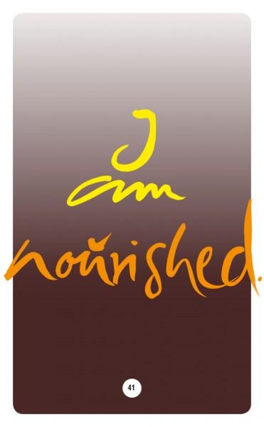 I AM NOURISHED.