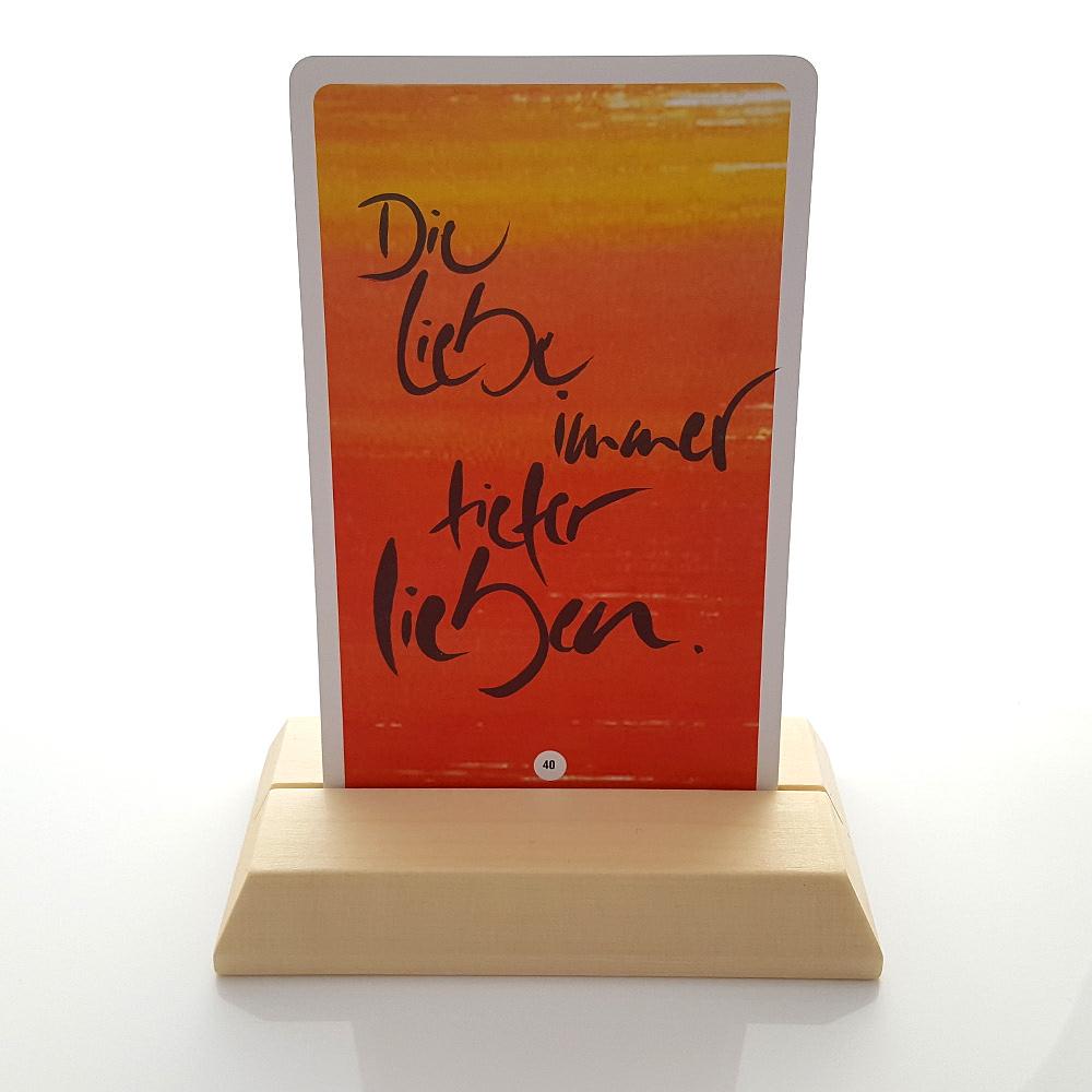 stempel kartenst nder aus holz gru karten stempel signkarten gru karten sign shop. Black Bedroom Furniture Sets. Home Design Ideas