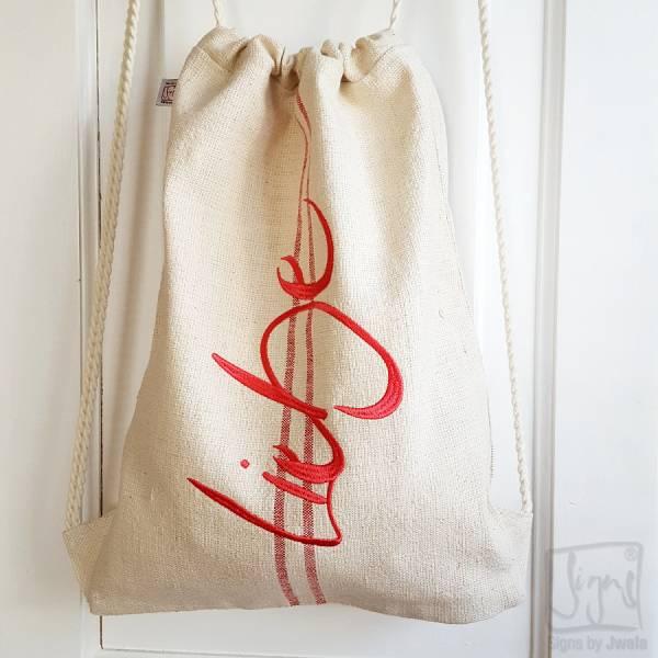 """Backpack """"Liebe"""""""