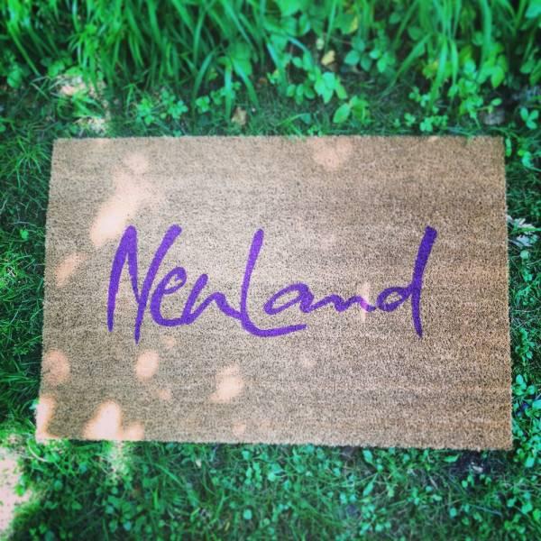 """Fußmatte """"NeuLand"""""""