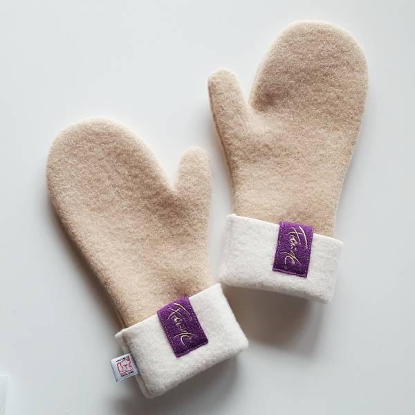"""Handschuh """"Freude"""" Camel"""