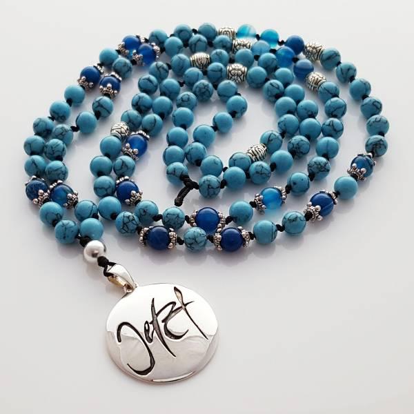 Jetzt-Mala (Türkis + Achat Blau)