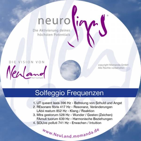 """CD """"Solfeggio-Frequenzen"""""""