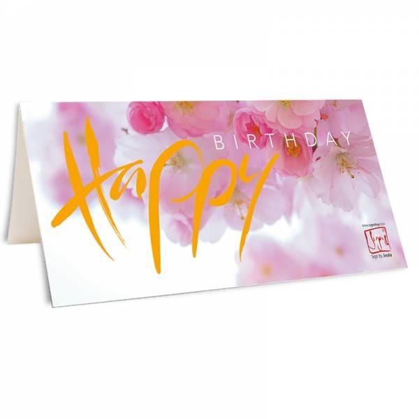 """Klappkarte """"Happy Birthday"""" 3"""