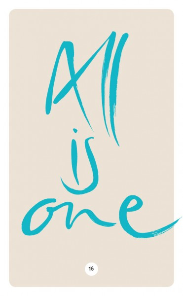 ALL IS ONE.
