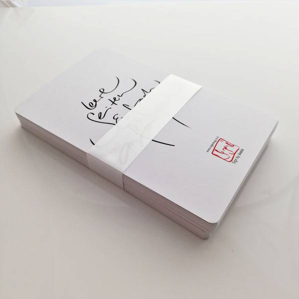 Die Weißen Karten (Nachfüllpack)