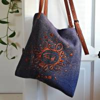 "MessengerBag ""Freude Ornament"""