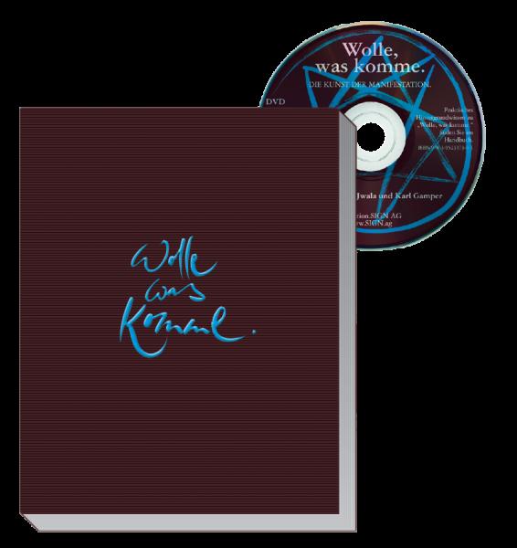 """DVD + Buch """"Wolle, was komme - die Kunst der Manifestation"""""""
