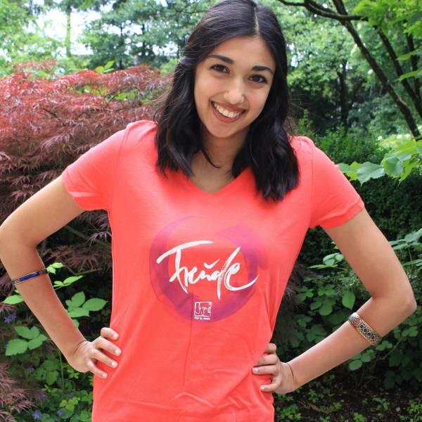 """T-Shirt """"Freude"""" für Frauen"""