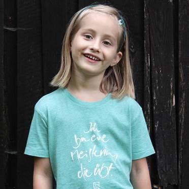 """T-Shirt """"Meisterin"""" für Mädchen"""